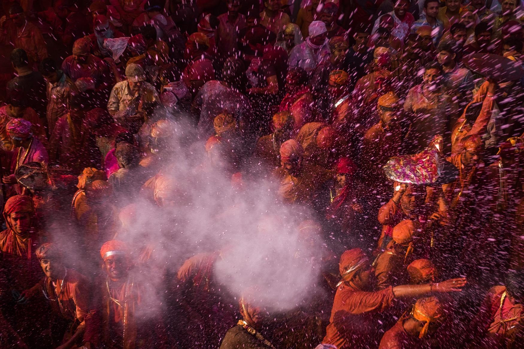 Holi Celebratons in Nandgaon and Barsana