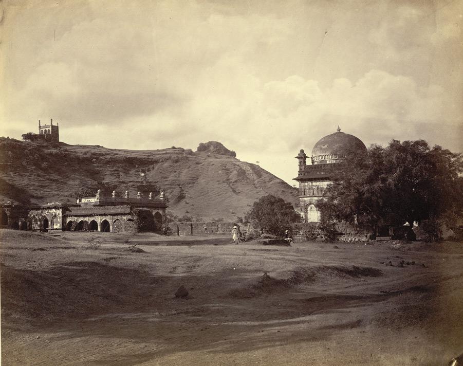 An old Photo of Malik Ambar's Tomb