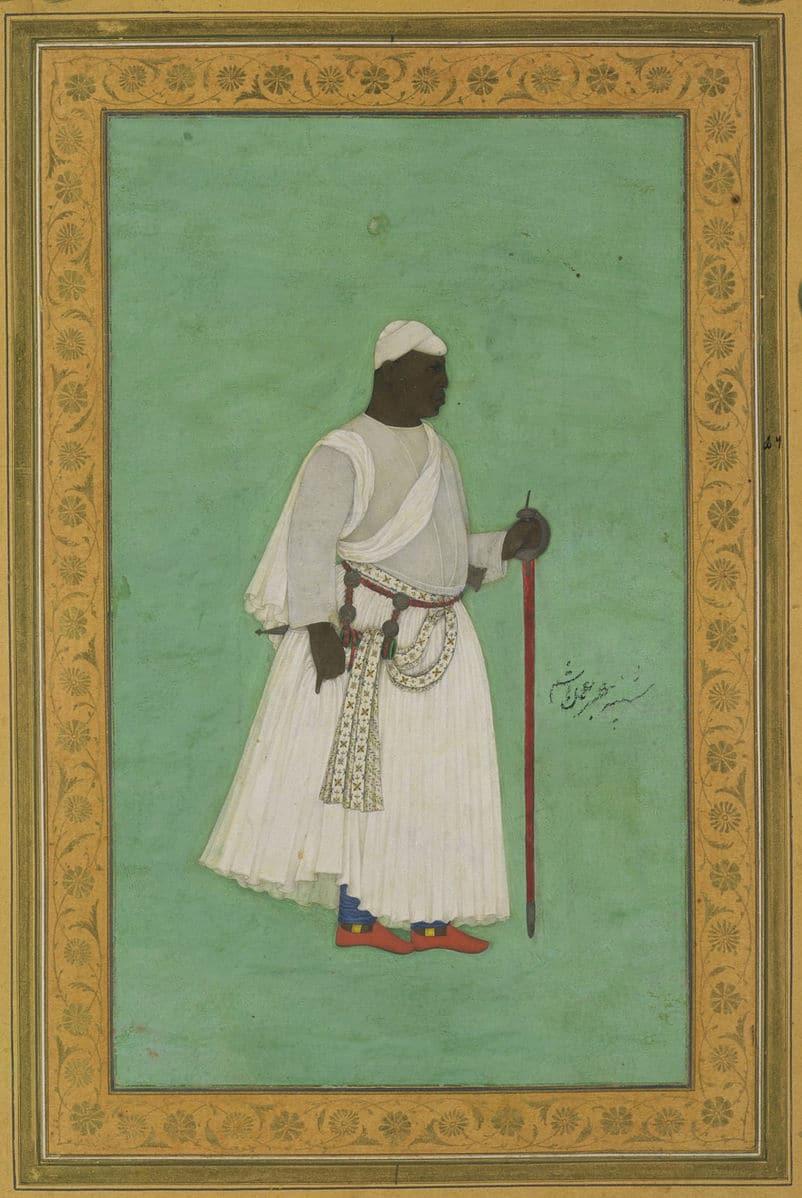 A portrait of Malik Ambar