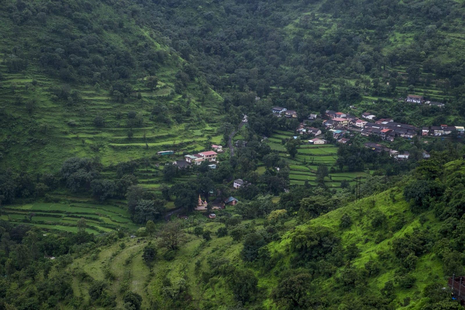 View from Devrai Art Village