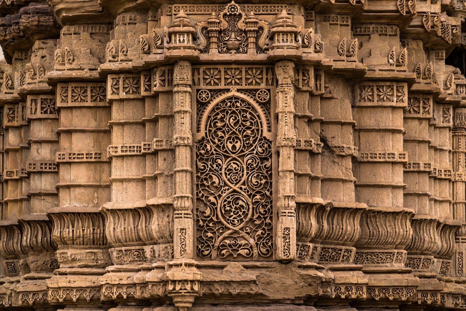 Carvings, Champaner