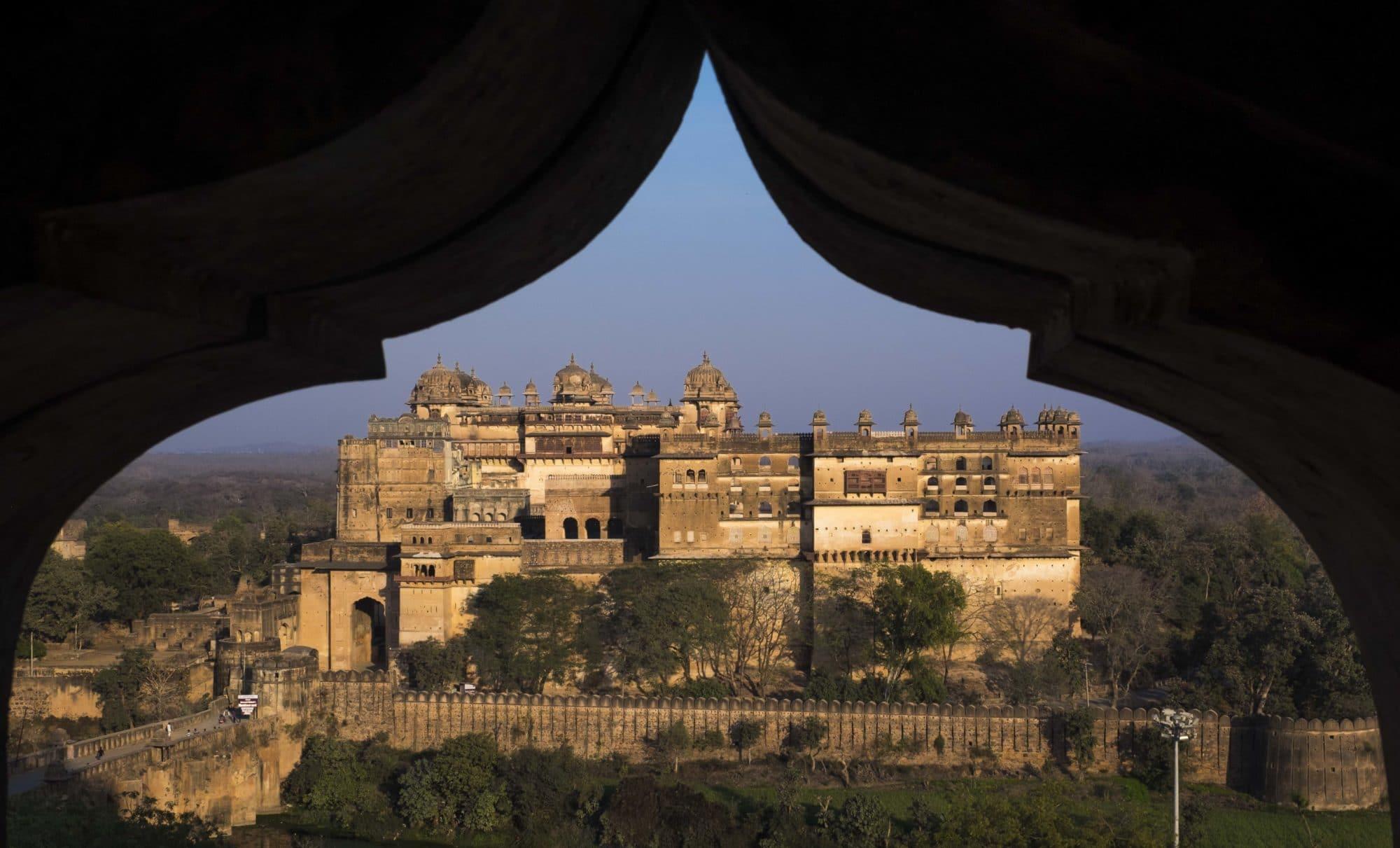 Raja Mahal, Orchha Fort