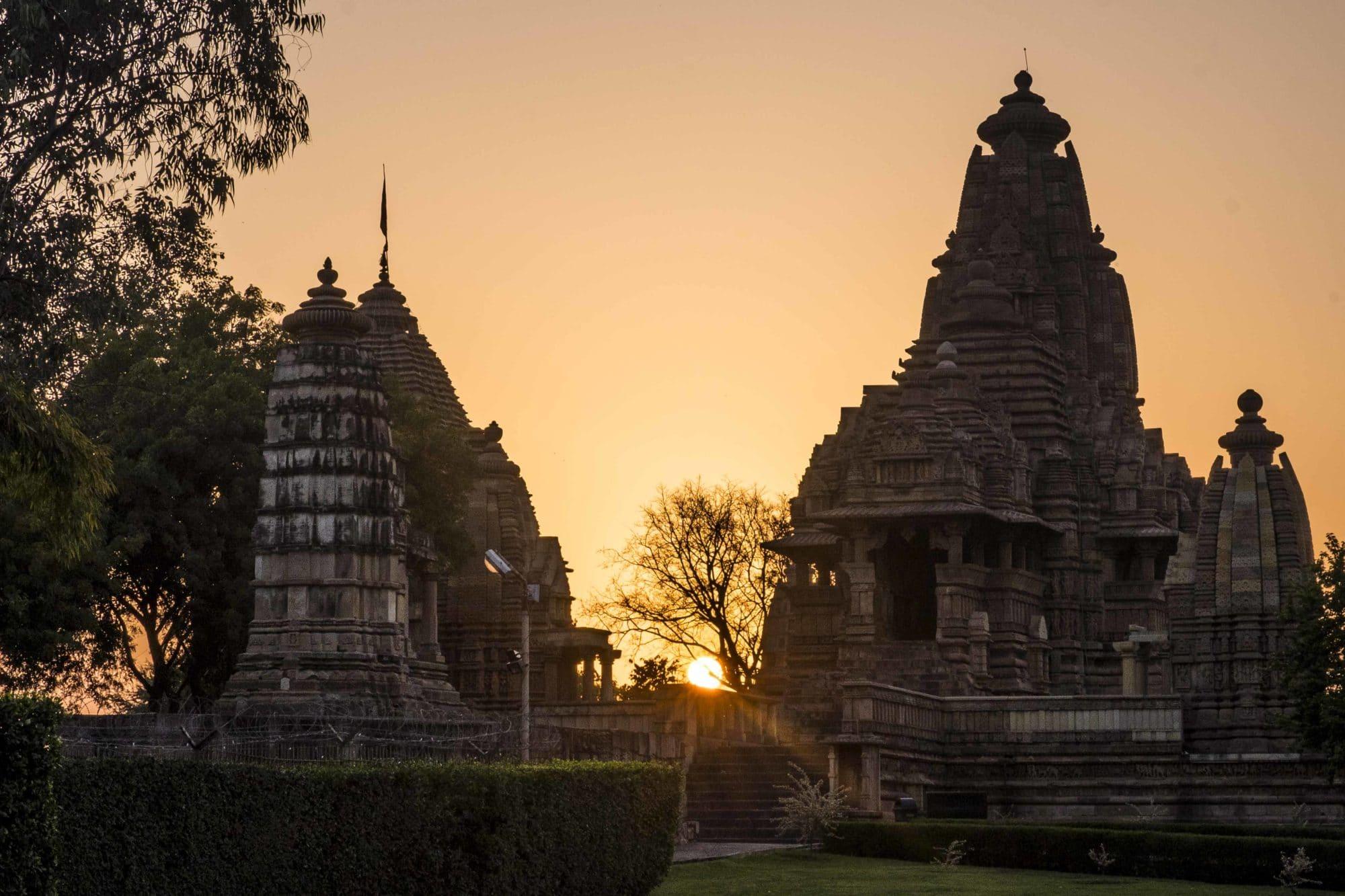 Khajuraho Temples Sunset