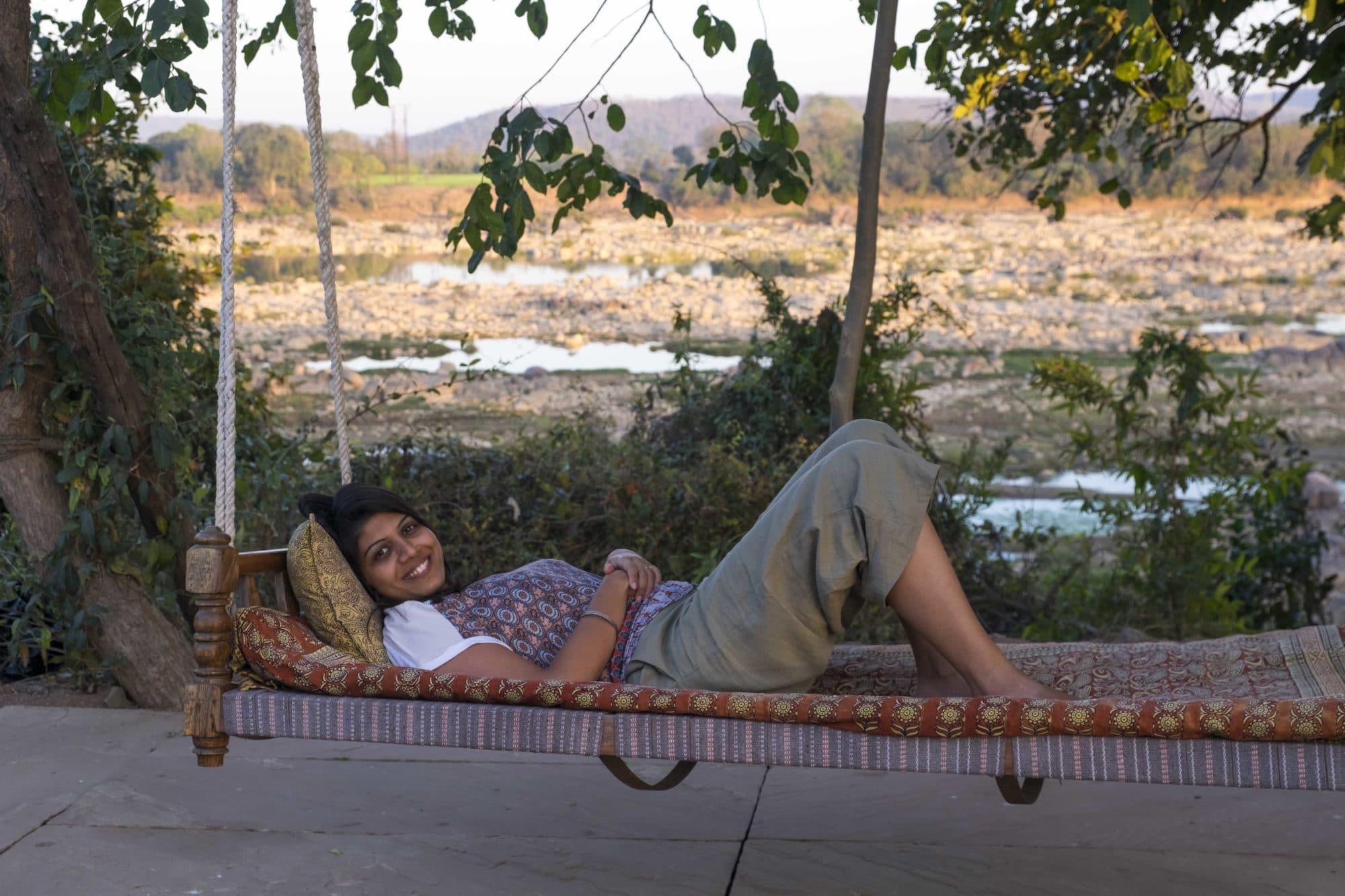 relaxing at sarai at toria
