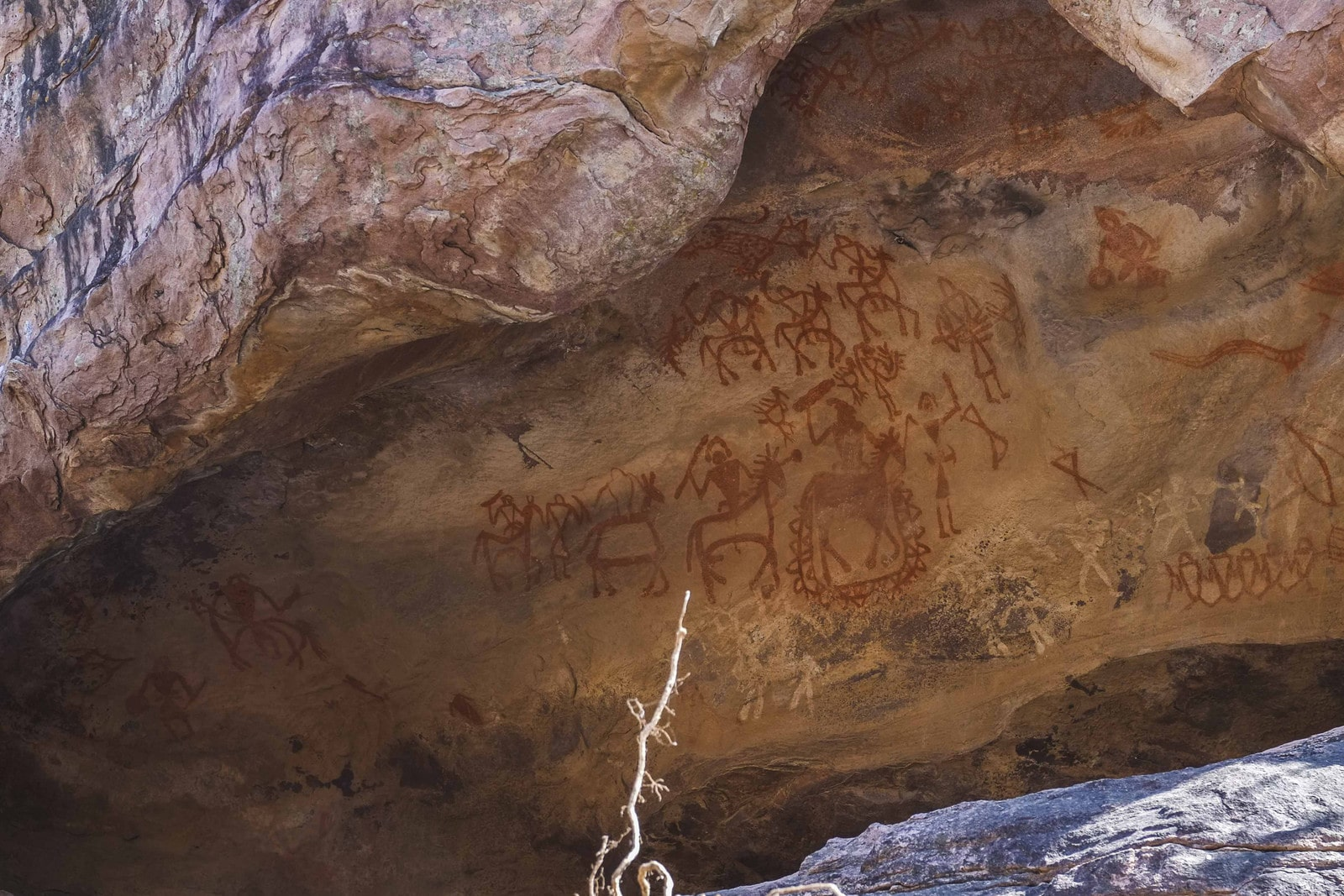 Bhimbetka rock paintings bhopal
