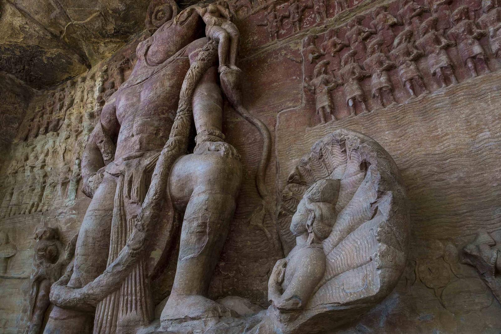 Vishnu Boar avatar Udayagiri Caves Bhopal