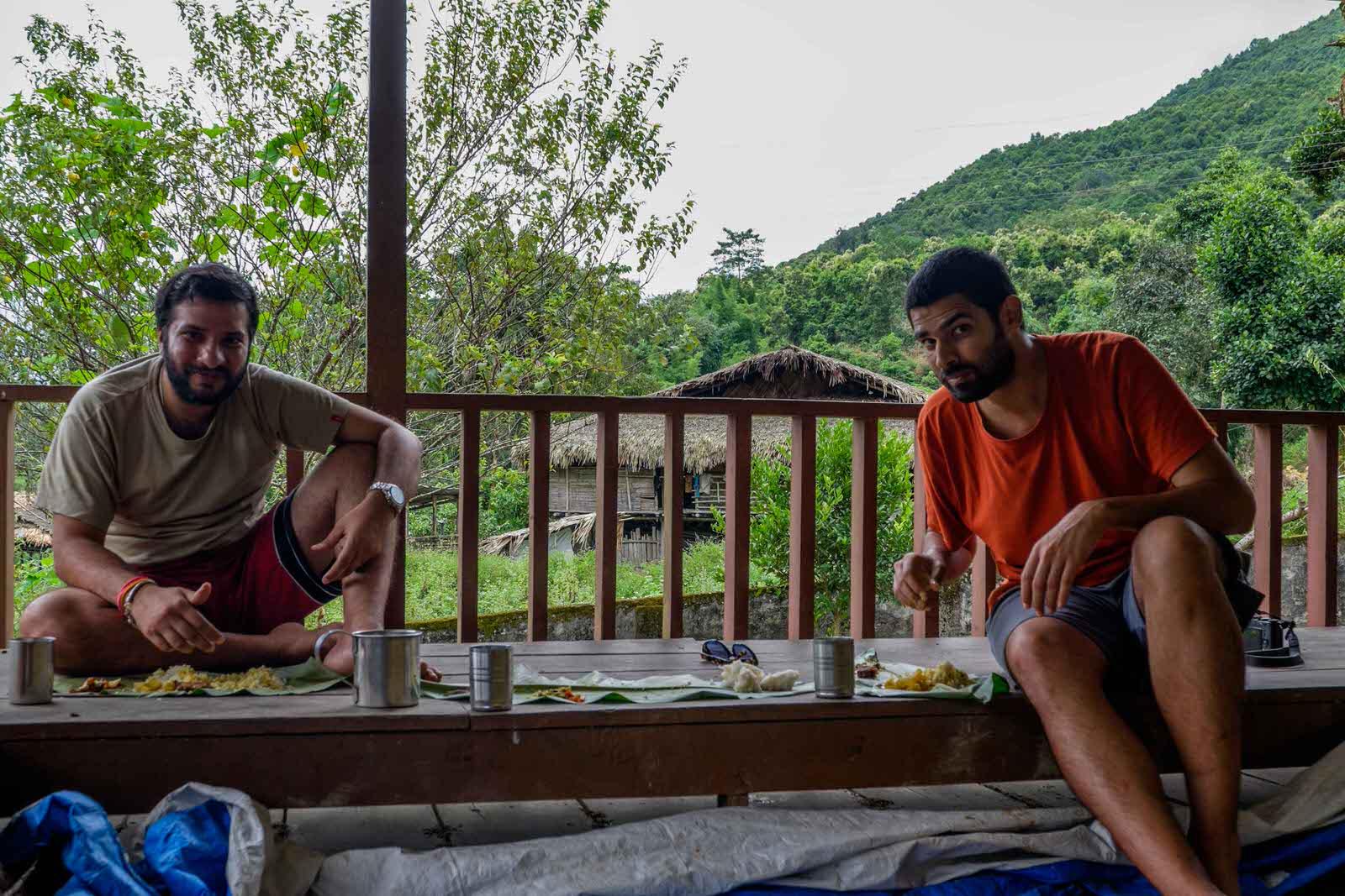 meals in arunachal