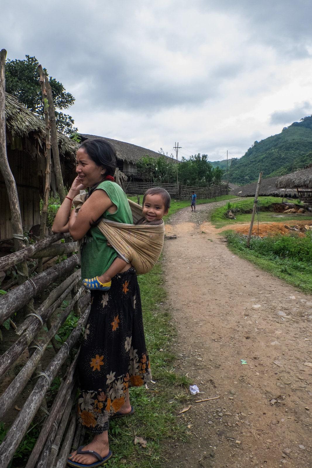 Bam village arunachal pradesh