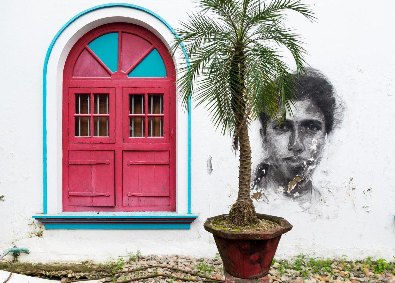 Wall Mural, Fort Kochi