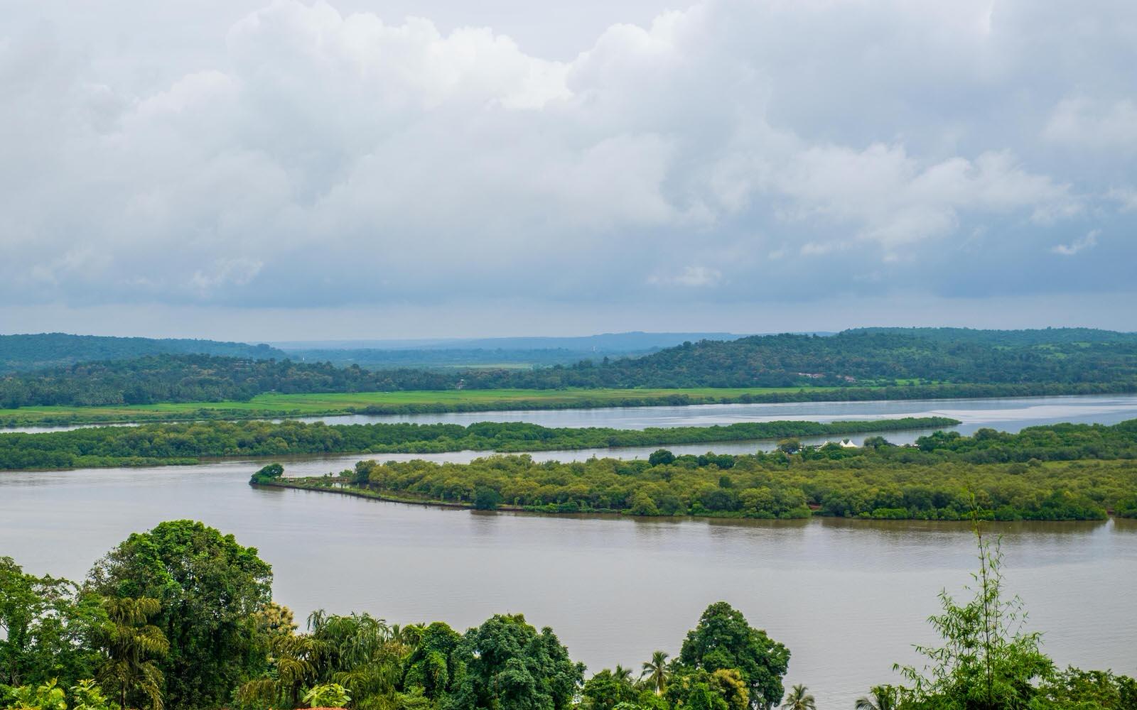 Mandovi river, Panjim