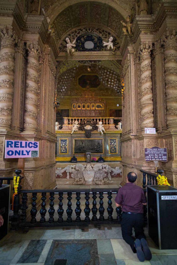 Relics of St Francis Xavier, Basilica of Bom Jesus
