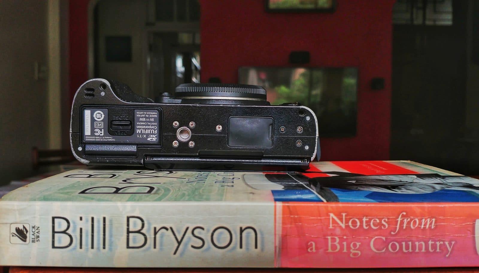 Fujifilm XT-1 size comparision