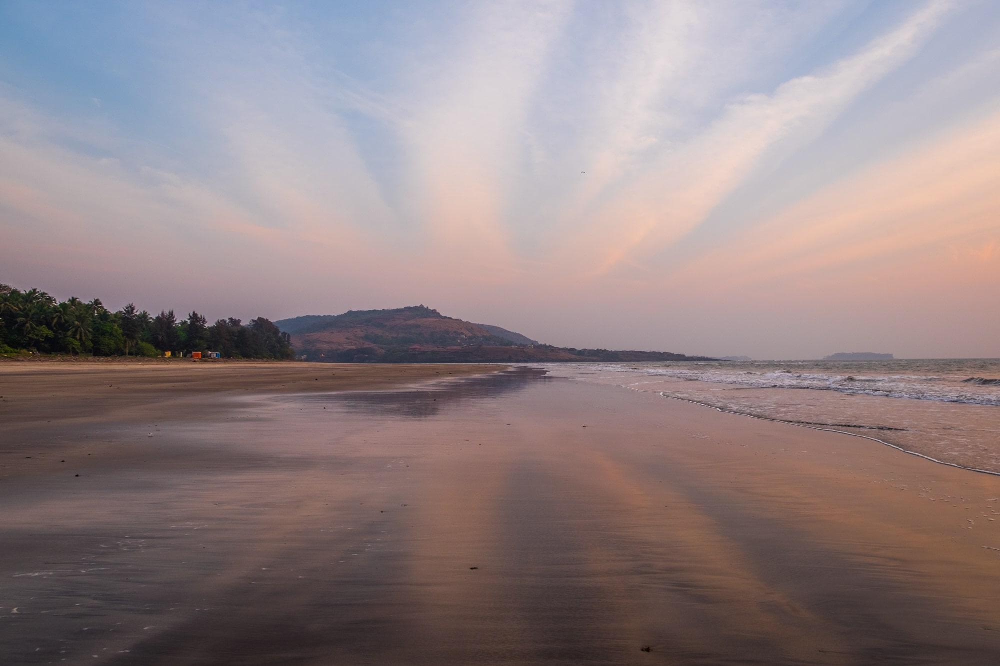 Anjarle beach harnai dapoli