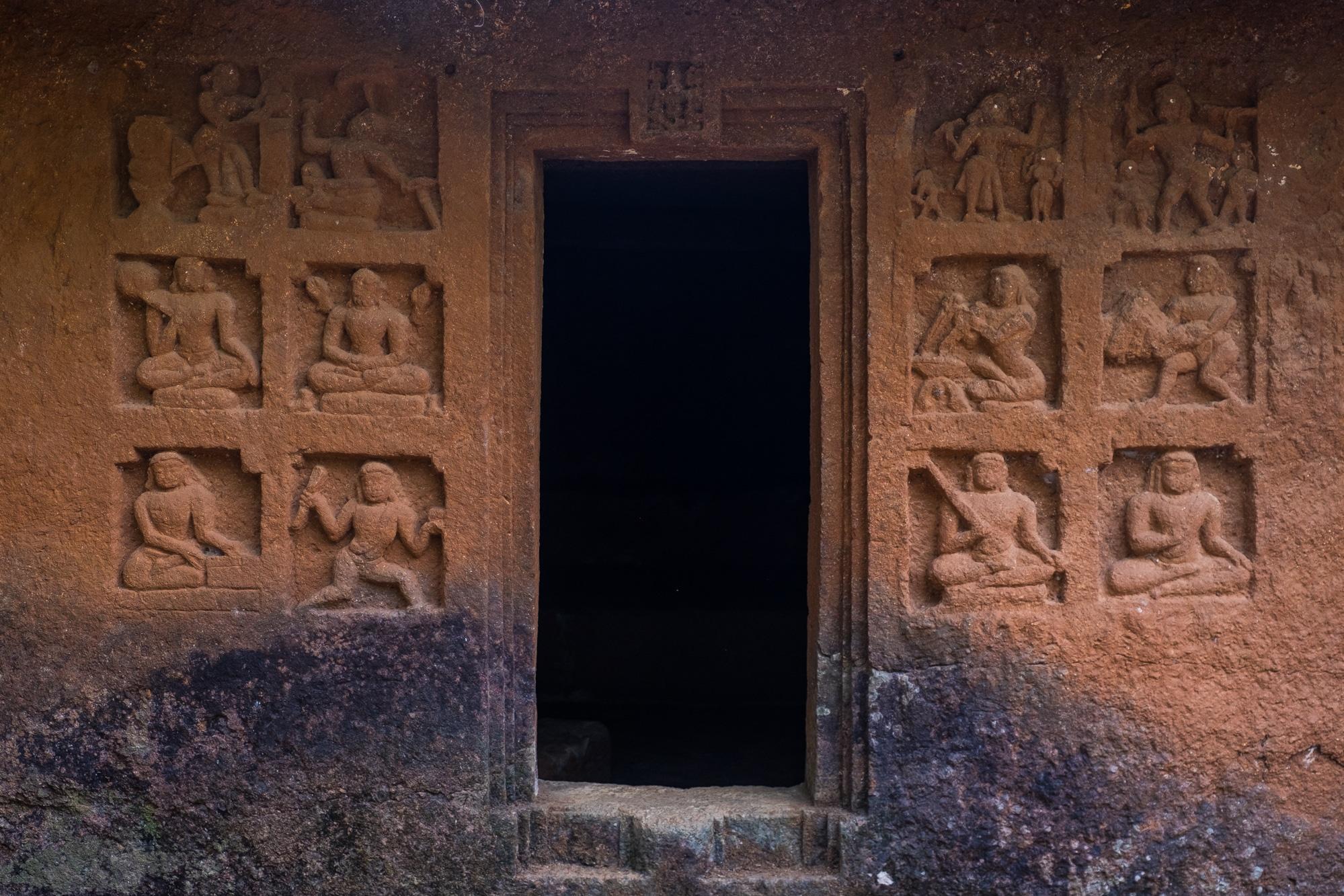Panhalkaji caves maharashtra