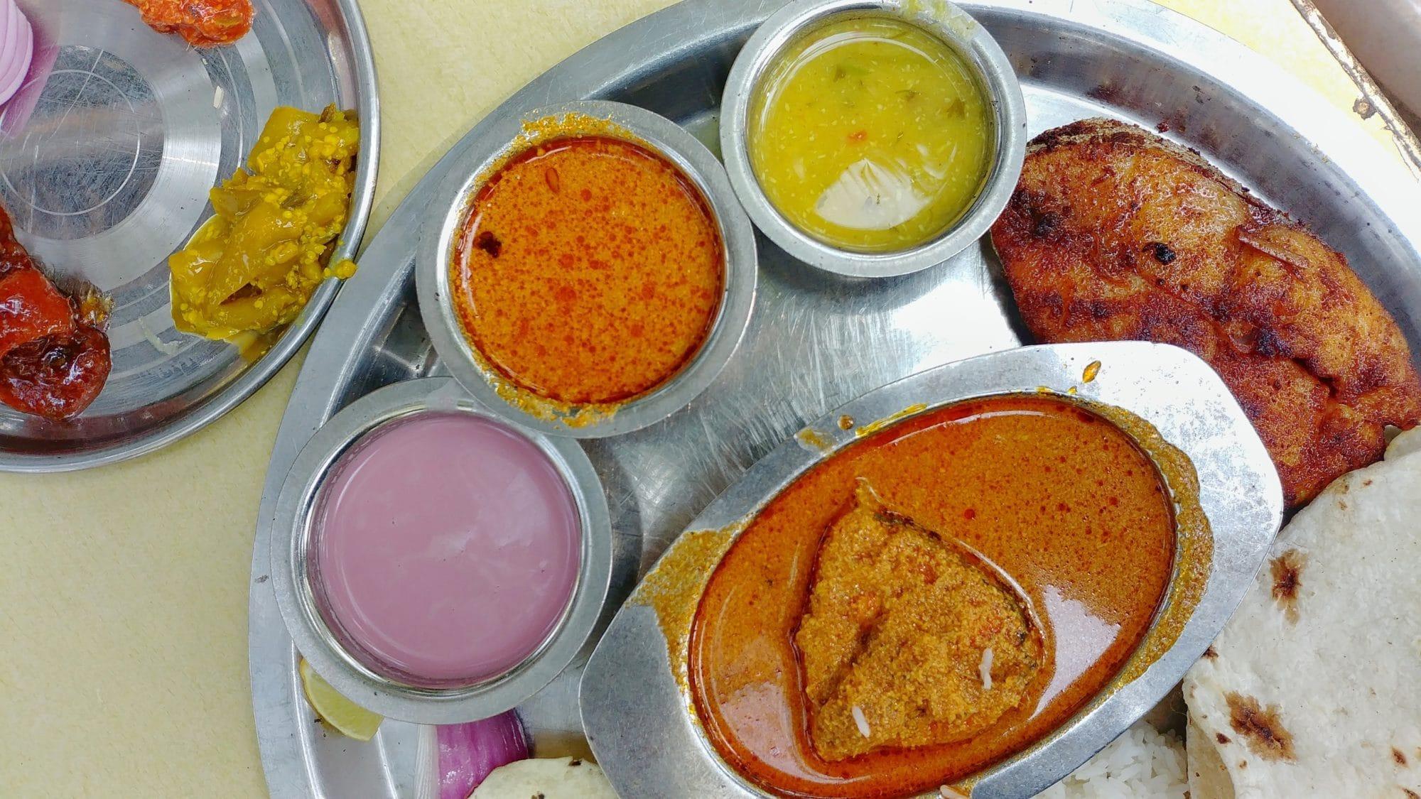 Surmai thali, Patil Khanawal, Murud