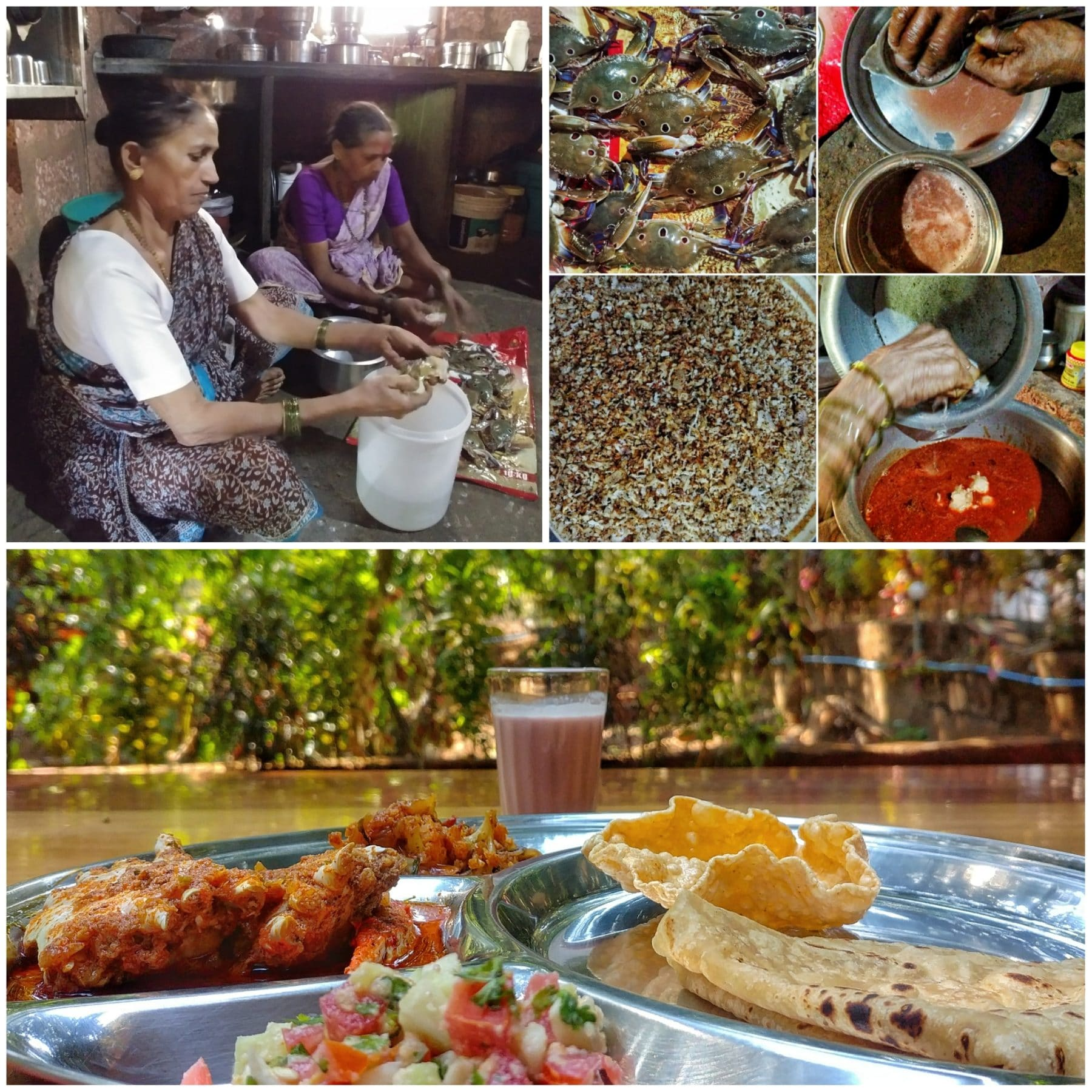 crab curry village nirvana naringre