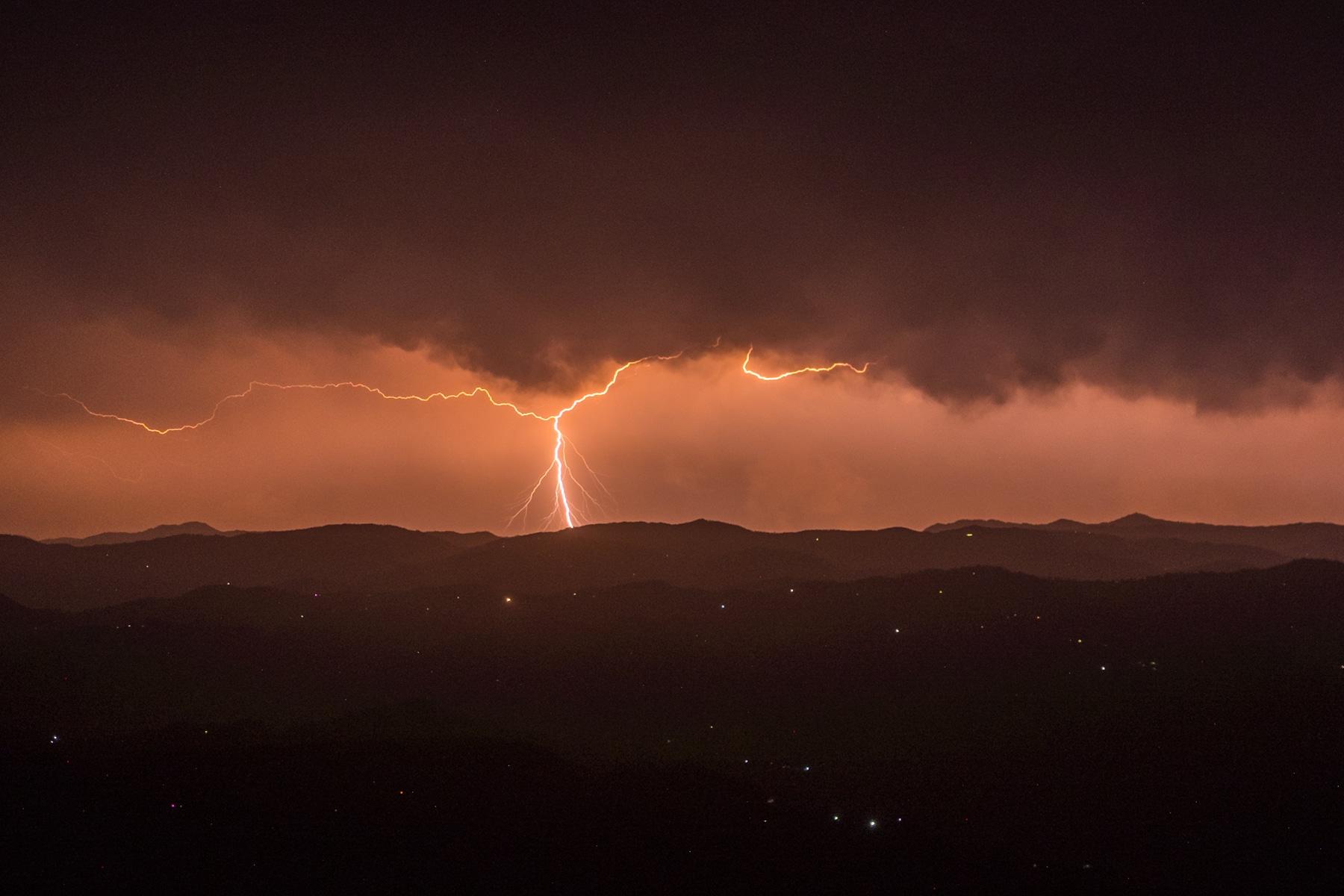 Stormy Binsar nights