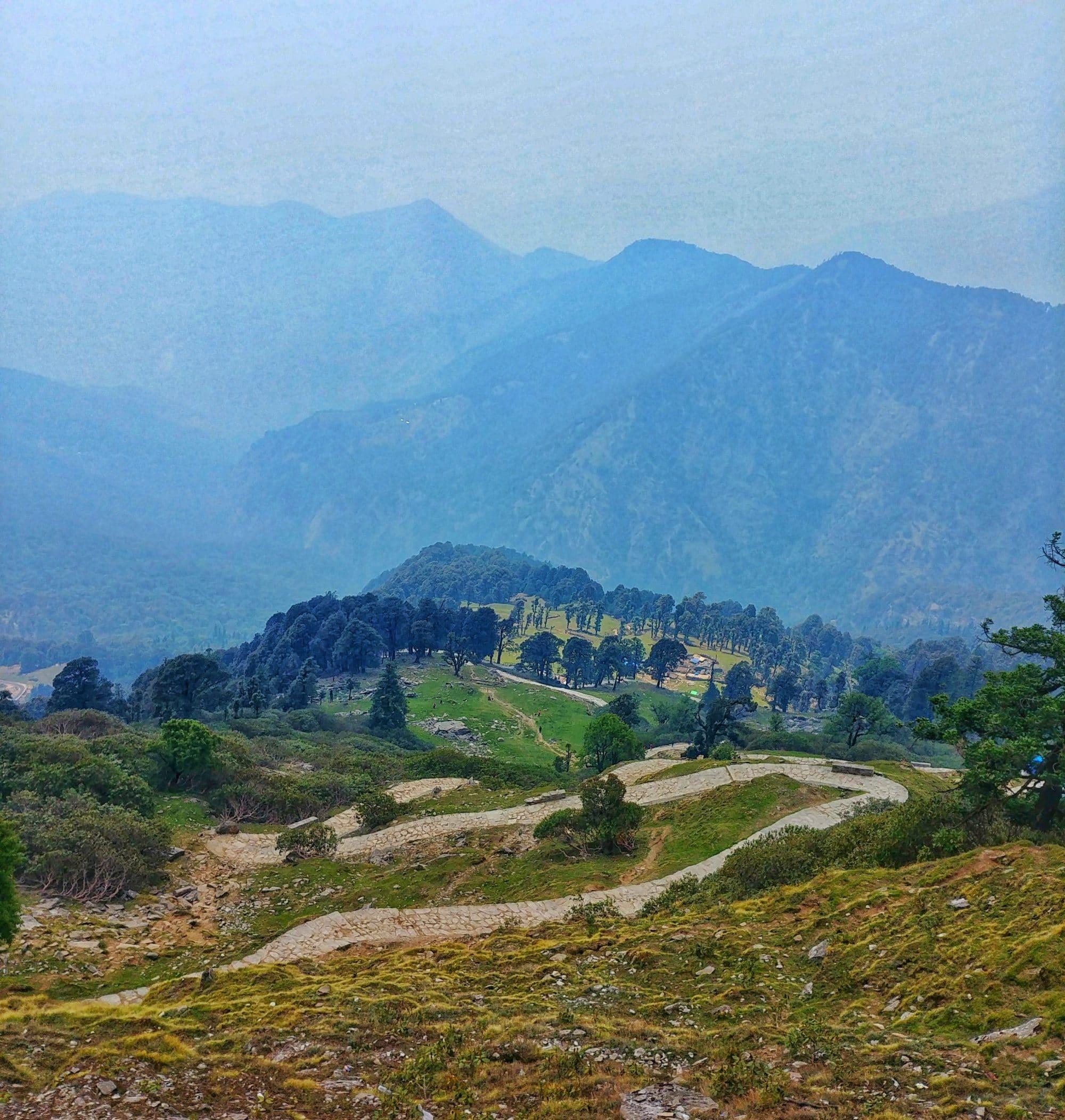 Tungnath trek path